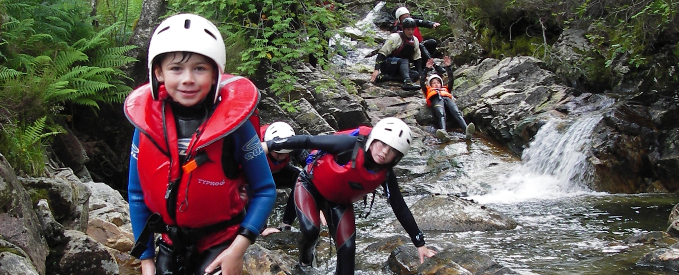 14-7-05 canyoning and fun yakking and bridge swing 097